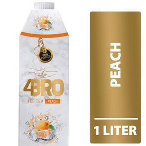 4Bro Ice Tea Peach (1000ml Pack Eistee Pfirsich)