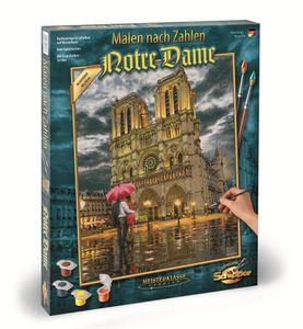"""Schipper 609130817 Die Kathedrale """"Notre-Dame in Paris"""" Malen nach"""