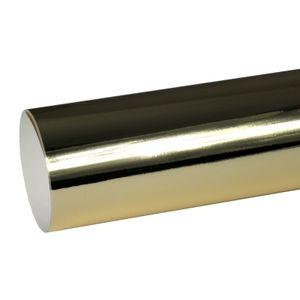 (6,97€/m²) Oracal Plotterfolie 351 911 Chrom Gold Glanz 63 cm Breite