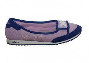 Etnies Skateboard Damen Schuhe Velcro Lavender Slip On Ballerinas, Schuhgrösse:37.5