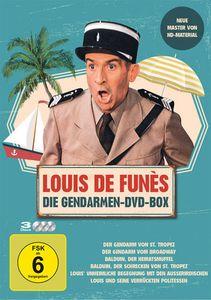 Louis de Funes - Gendarmen BOX (DVD) 3-DVDs - Universum Film  UFA  - (DVD Video / Komödie)