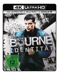 Bourne Identität (BR+UHD)  2Disc Min: 118DD5.1WS    4K Ultra