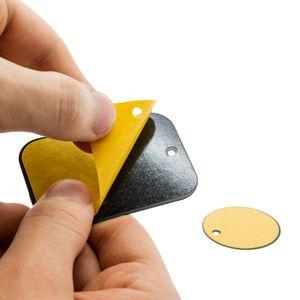 Mobilefox 2er Set Metall Platten Ersatzteile Universal Magnetisch KFZ Halterung