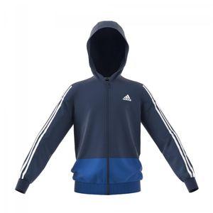 adidas Kinder Trainings Jacke Gear Up Full Zip Hoodie blau, Größe:164