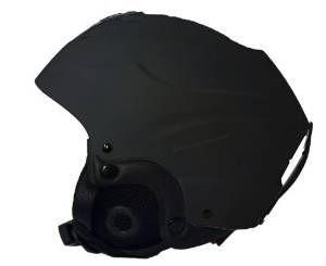 Kinder Ski Snowboard Helm Schwarz XS 44-48
