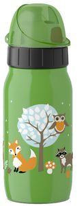emsa KIDS Isolier-Trinkflasche ISO 2 GO 0,35 L Waldfreunde