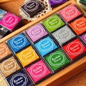 20 stk. Mehrfarbige Stempelkissen Fingerfarbe Set für DIY Scrapbooking