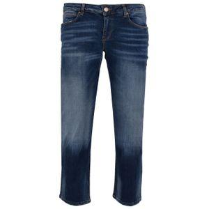GIN TONIC Damen Straight Jeanshose Dark blue wash, Größe:36/32, Farbe:Dark Blue Wash