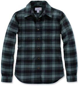 CARHARTT Bekleidung Hamilton Flanell Shirt balsam green Größe