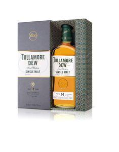 Tullamore Dew 14 Jahre Single Malt Irish Whiskey in Geschenkpackung | 41,3 % vol | 0,7 l