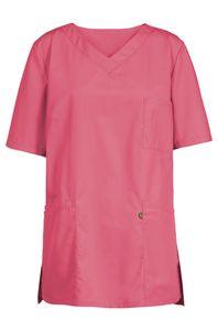 Größe XL Greiff Care Damen Kasack Kurzarm Mattrosa 50 % Baumwolle 50 % Polyester Modell 5105