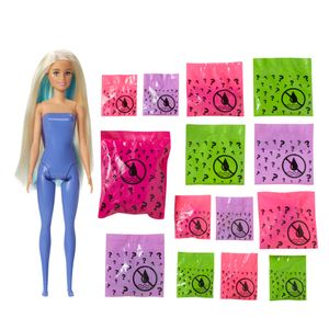 Barbie Color Reveal Puppe & Haustier, Fantasy Fashion Fee