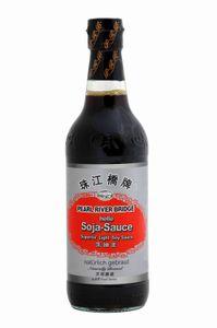Pearl River Bridge Helle Soja-Sauce natürlich gebraut (500ml Flasche)