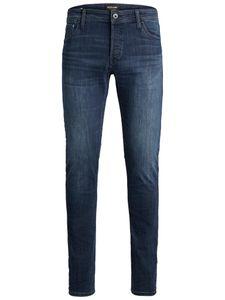 JACK & JONES JEANS NZGLENN Slim-Fit, Farbe:Blue Denim 812 / Dunkelblau, Hosengröße:W36/L34