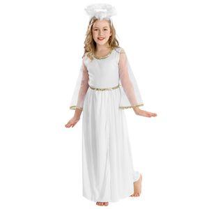 dressforfun Mädchenkostüm zauberhafter Engel - 128 (8-10 Jahre)