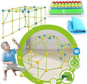 NightyNine Kinder Bauplatz, Forts Bauspielzeug Schloss Baustein Bausatz Kunststoff Bauset Konstruktionsspielzeug Baukasten Lernspielzeug Kreative Spielzeug Kinder Jungen Mädchen ab 6 Jahre