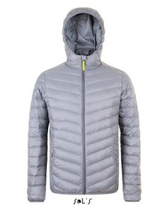 Herren Ray Men Jacket - Farbe: Metal Grey - Größe: L