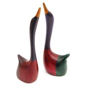 Ringhalter Ente aus Holz