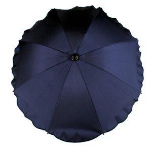 BAMBINIWELT Sonnenschirm für Kinderwagen Ø68cm UV-Schutz50+ Schirm Sonnensegel Sonnenschutz, marine