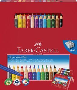Faber-Castell Geschenkbox Jumbo Grip&Colour Marker