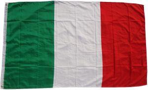 Flagge Italien 90 x 150 cm  - Fahne- reißfest - rissfest - Hissfahne- Hissflagge - Sturmflagge -zum hissen - ! - keine billige Chinaqualität!