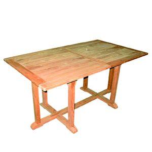Teak Tisch Gartentisch ausziehbar 210/160 x 90 x 75 cm