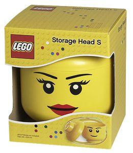 LEGO 40311724 Aufbewahrungsbox in Legokopf-Form, Small