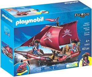 PLAYMOBIL® Pirates - Soldiers' Patrol Boat 5683