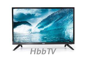 Xoro HTL 2477 59,94 cm (23,6 Zoll) LCD-Fernseher, DVB-T/-T2/-C/-S2 Empfänger, HbbTV, WLAN, eingebauter Sprachassistent, CI+