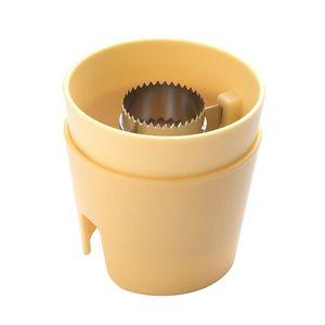 Maishobel Thresher Zwei-teiliges Set Corn Separator Stripper Peeler -(Gelb,)