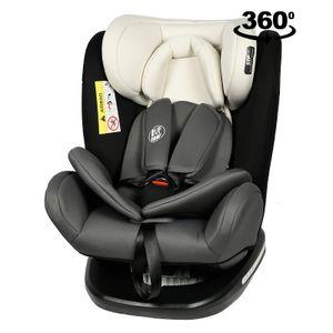 Tweety Mandara Kindersitz mit 360 Grad drehbarem Isofix-System BUF BOOF 0, 36 kg, schwarze Basis