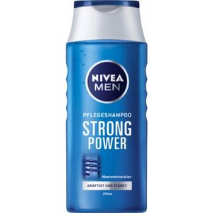 Nivea Men  Pflegeshampoo Strong Power 250ml Flasche