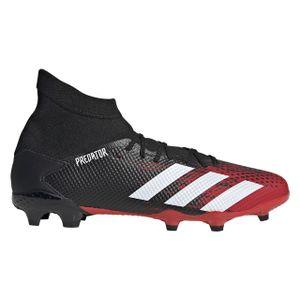 adidas Fußballschuhe Predator 20.3 FG Rot CBLACK/FTWWHT/ACTRED 42