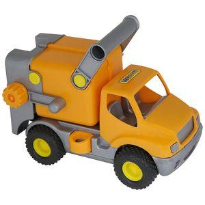 Polesie Wader Baukarre Müllwagen (orange)