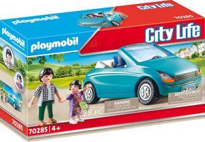 PLAYMOBIL, Papa und Kind mit Cabrio, City Life, 70285