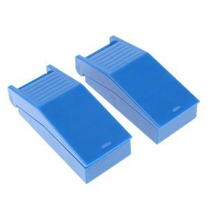 2er Set Multifunktionale Tablettenteiler/Pillenschneider / Tablettenschneider mit Aufbewahrungsfach, aus Hochwertig Kunststoff