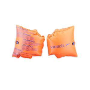 Speedo Kinder Accessoires Roll Up Schwimmflügel, Orange, One size, 8-069451288
