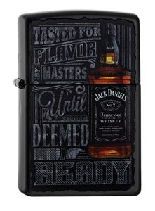 Zippo Feuerzeug Jack Daniels Bottle Black 60002093
