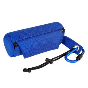 dibea Futterbeutel für Hunde Trainingsdummy Leckerliebeutel Hunde Snacktasche Farbe blau