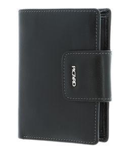 PICARD Ladysafe Bifold Wallet Black
