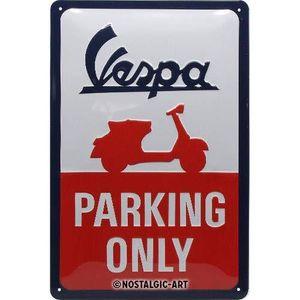 Nostalgic-Art - Blechschild Metallschild 20x30cm - Vespa Parking Only