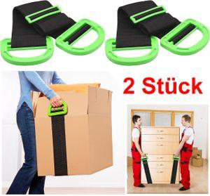 ✅GKA 2 Stück verstellbarer Tragegurt für Pakete Kisten Umzugsgurt Transportgurt Pakete Kisten leichter tragen Umzugshilfe Umzug ✅