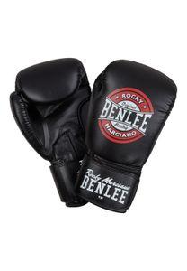 BENLEE Rocky Marciano Boxhandschuhe Herren Schwarz-Rot-Weiß, Größe:10 oz