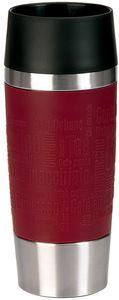 emsa Isolierbecher TRAVEL MUG 0,36 Liter Manschette rot