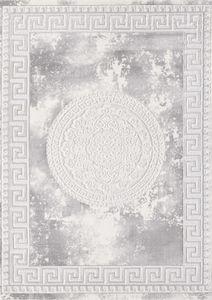 Sanat Teppich Harmony 3213 Light Gray rechteckig in Orient-Optik 80  x 300
