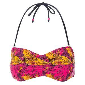 Trespass Damen Linien Bandeau Bikini Top TP3239 (2XL) (Pink Lady Print)