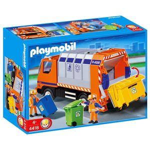 PLAYMOBIL® - Stadtleben Aktion - Müllabfuhr, 4418