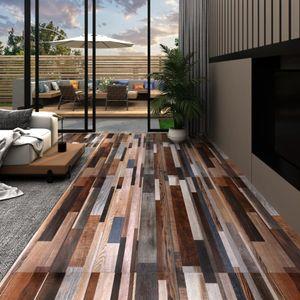 PVC-Laminat-Dielen 5,02 m² 2 mm Selbstklebend Mehrfarbig