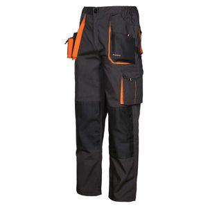 Arbeitskleidung ART.MaSter Classic schwarz/orange Bundhose 52