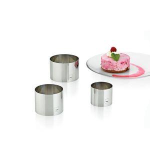 Kela Dessertringe Decore Edelstahl 18/10 glänzend 3tlg, 10785
